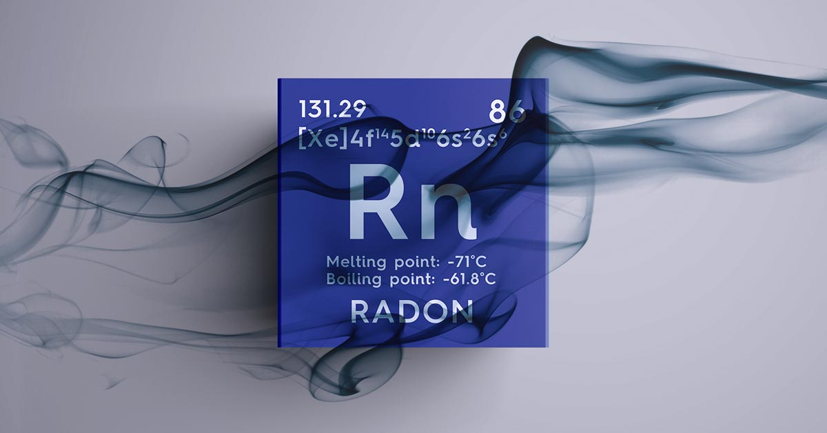 pericolo gas radon